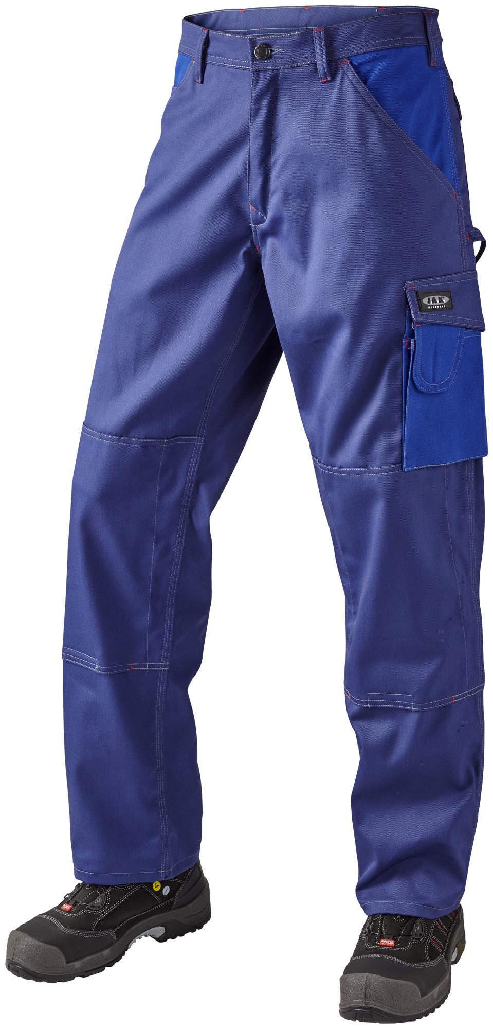 Arbejdsbukser, 100% bomuld, 10206 - Marine/Kongeblå