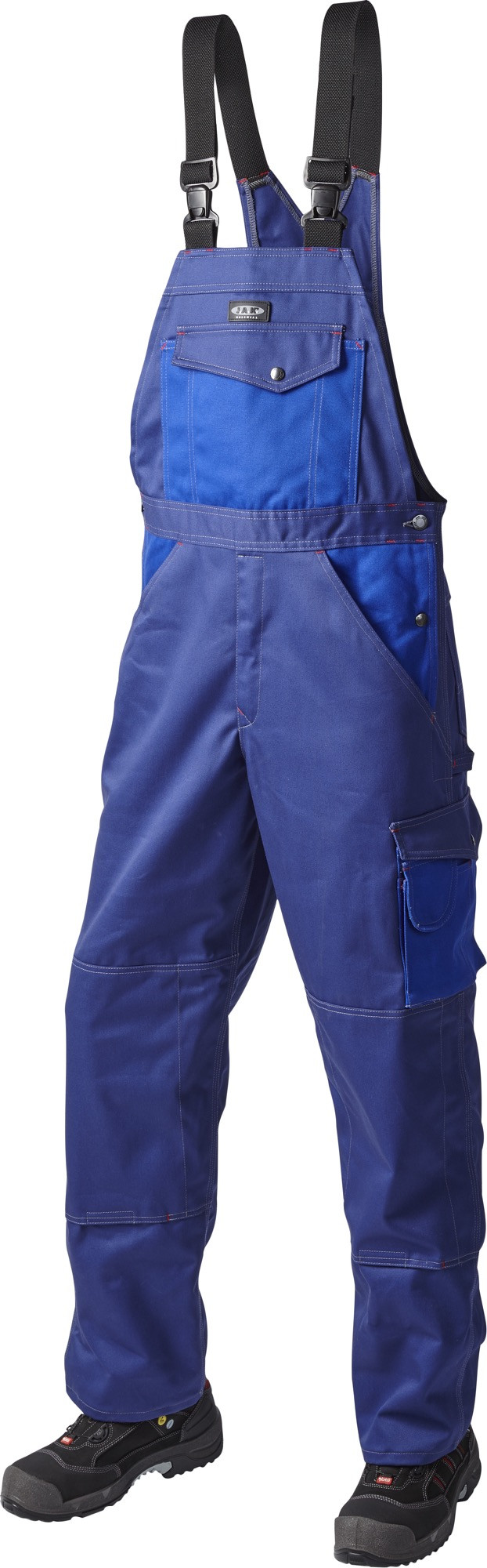 OUTLET - Overall, SUPER COLOUR BOMULD, 10207 - Marine/Kongeblå