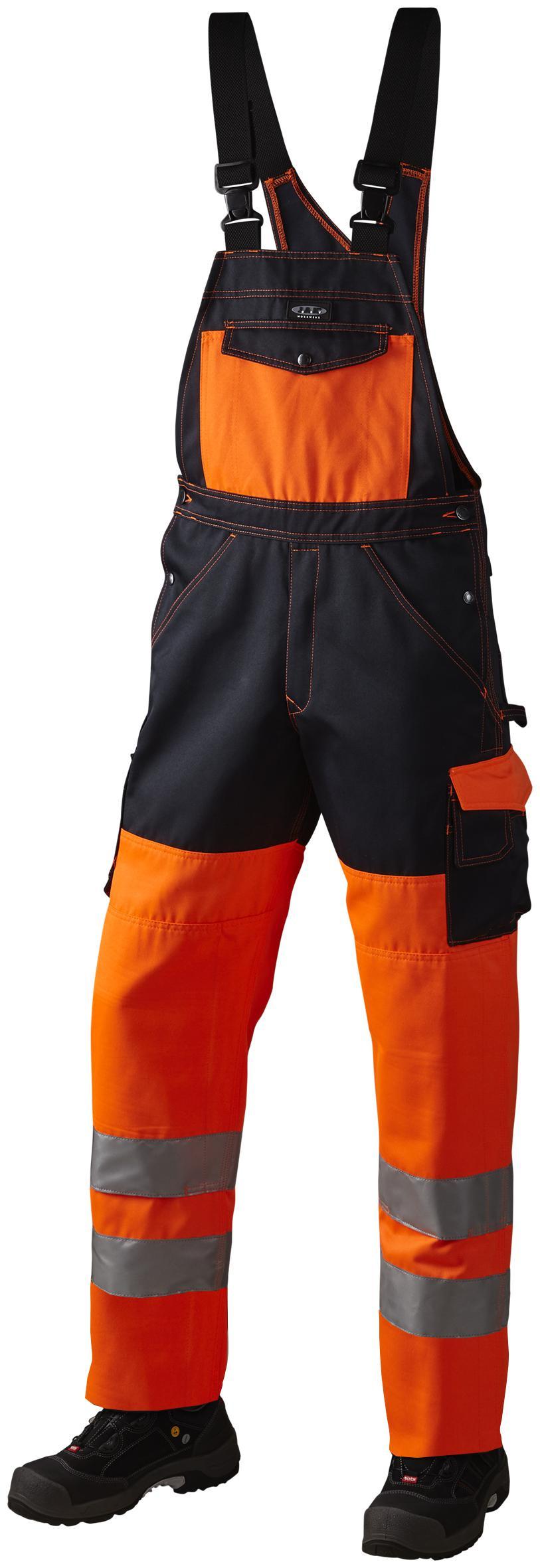 Arbejds overall, HI-VIS, kl. 2, 11107 - Orange/Marine