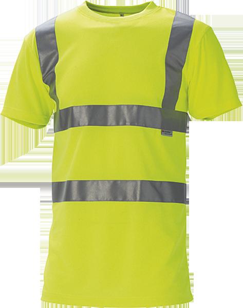 T-shirt, Hi-Vis, kl. 2, 11114 - Gul