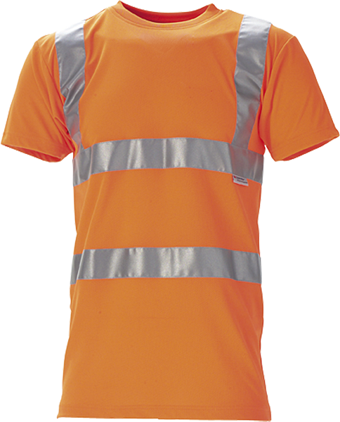 T-shirt, Hi-Vis, kl. 2, 11114 - Orange