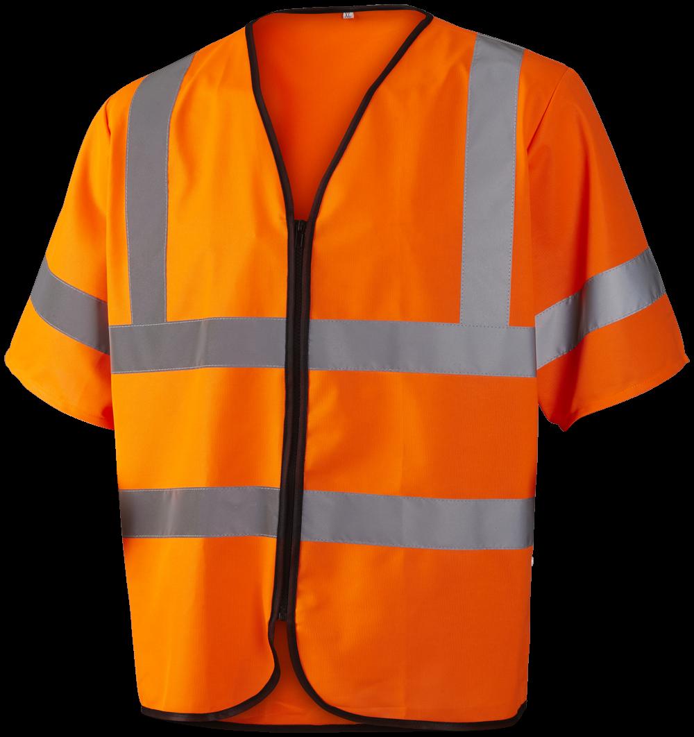 Refleks sikkerhedsvest EN ISO 20471 kl. 3, 11117 - Orange