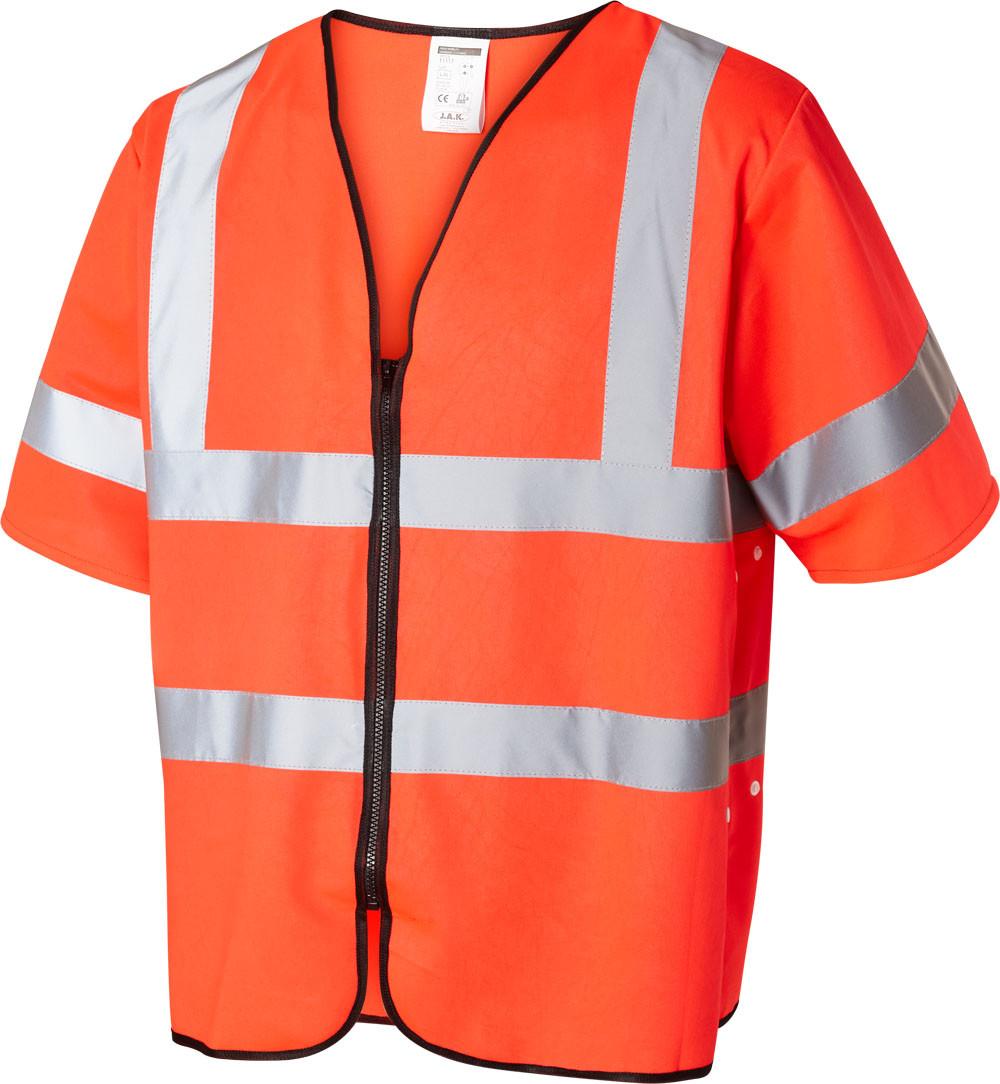 Refleks sikkerhedsvest EN ISO 20471 kl. 3, 11117 - Rød