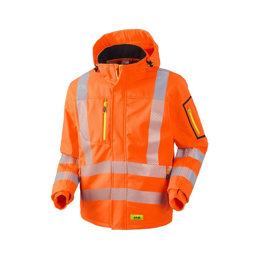 JAK - Softshell, HI-VIS, EN20471 kl. 3, 11135 - Orange
