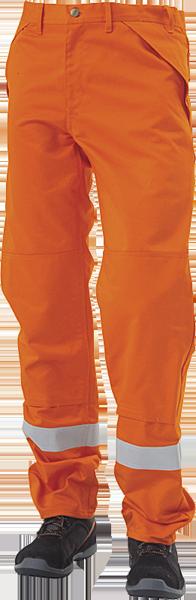 Arbejdsbukser, ANTIFLAME/ANTISTATISK, kl. 1, 12101 - Orange