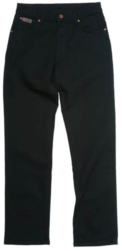 Wrangler Stretch, black - 121-U6-44M
