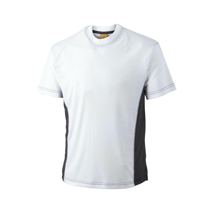 T-shirt, 1624 - Hvid/Grå