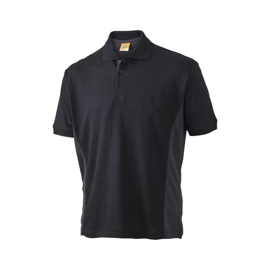 Poloshirt, 1625 - Sort/Grå