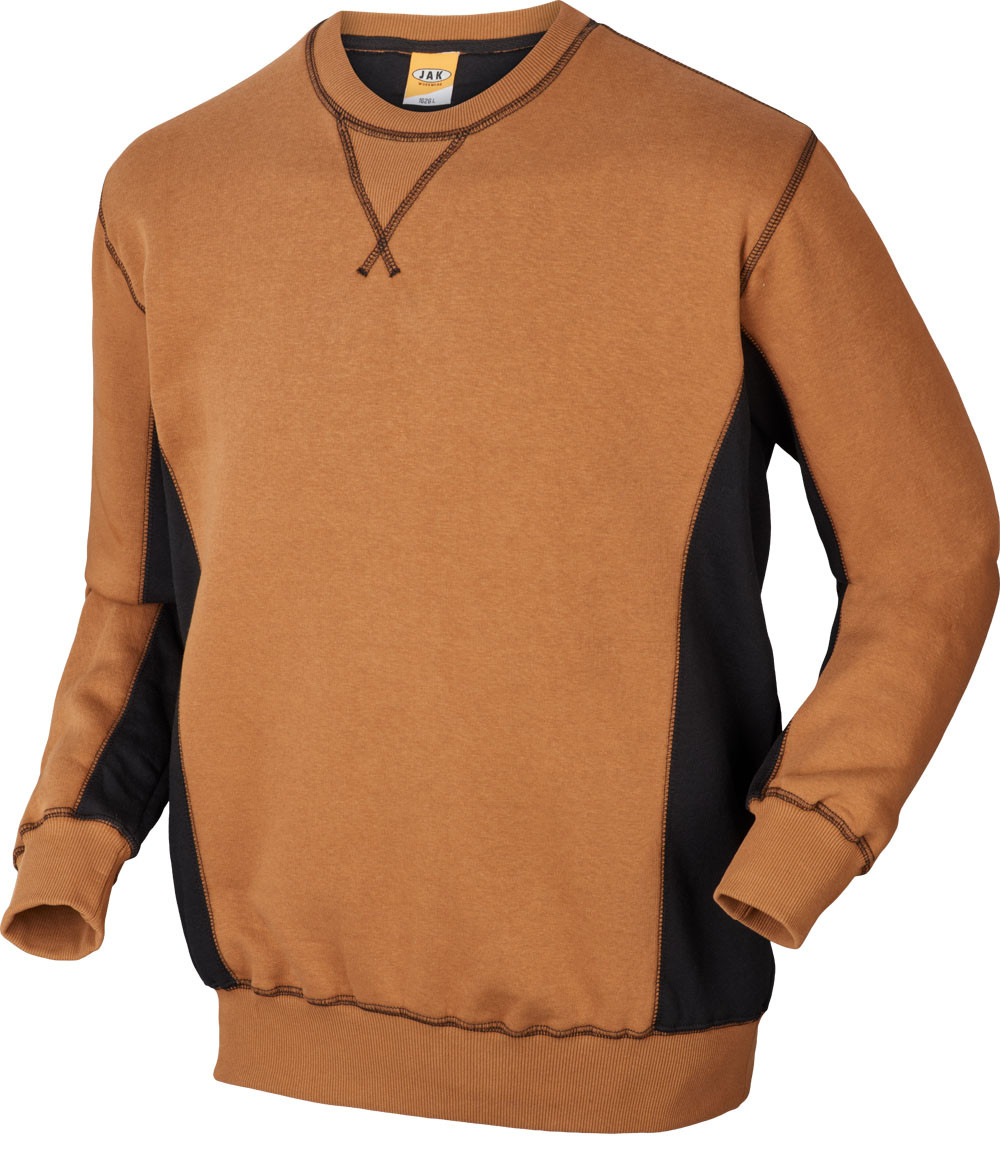 Sweatshirt, 1626 - Camel/Sort