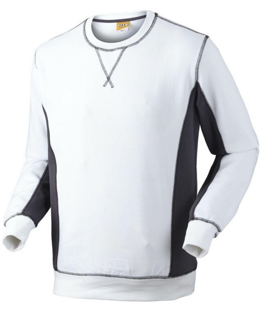 Sweatshirt, 1626 - Hvid/Grå