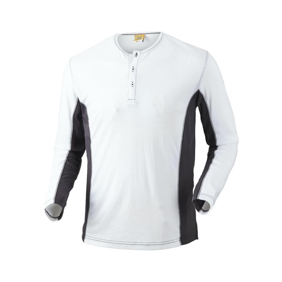 Grandad shirt, 1627 - Hvid/Grå