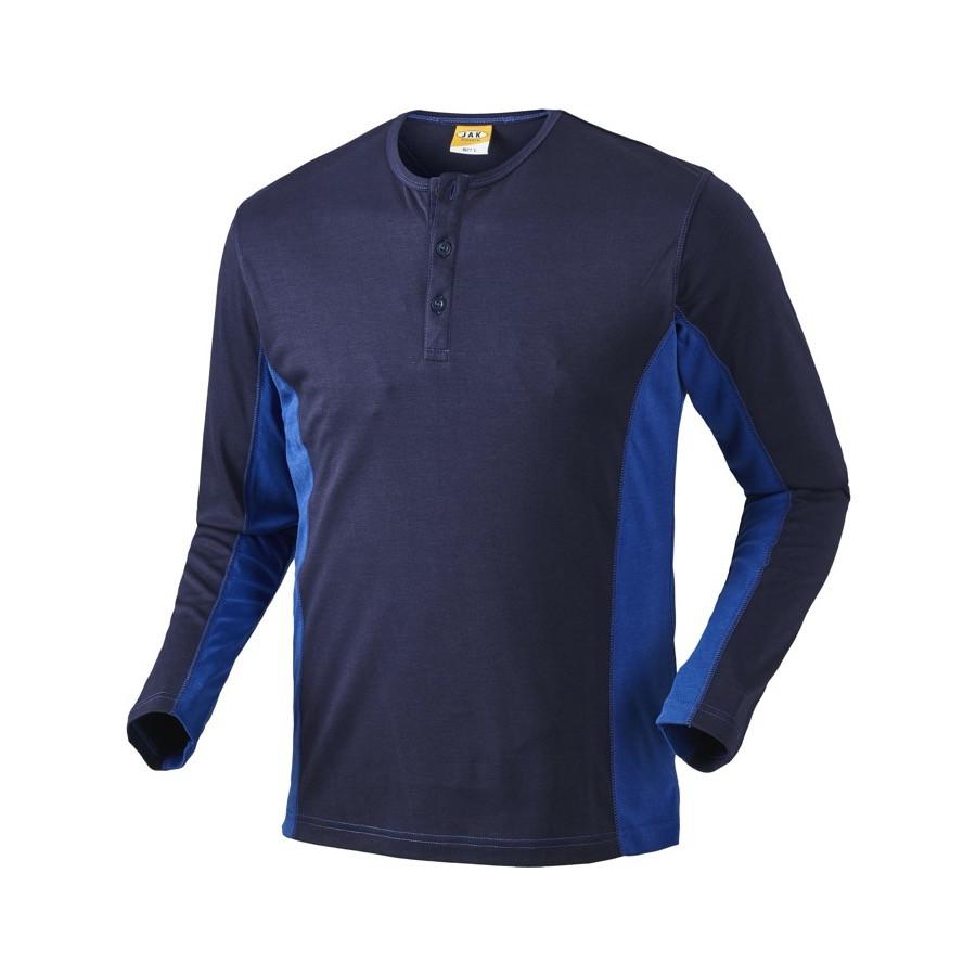 Grandad shirt, 1627 - Marine/Kongeblå