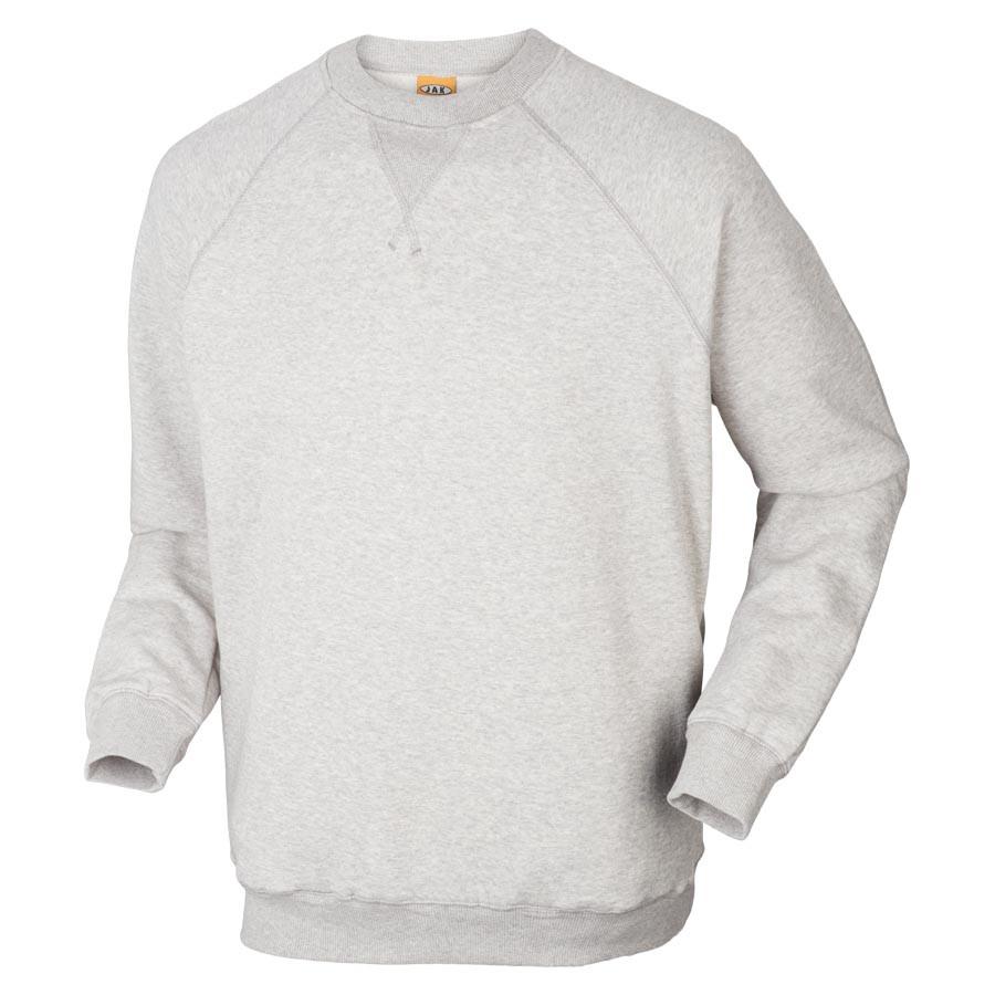 8507 Sweatshirt - Grå Melange