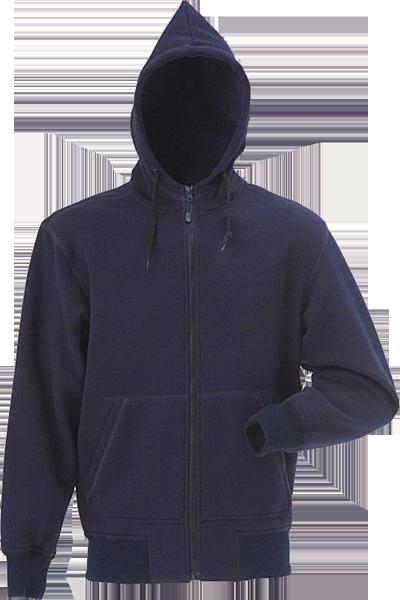 Hættesweatshirt, 8520 - Marine