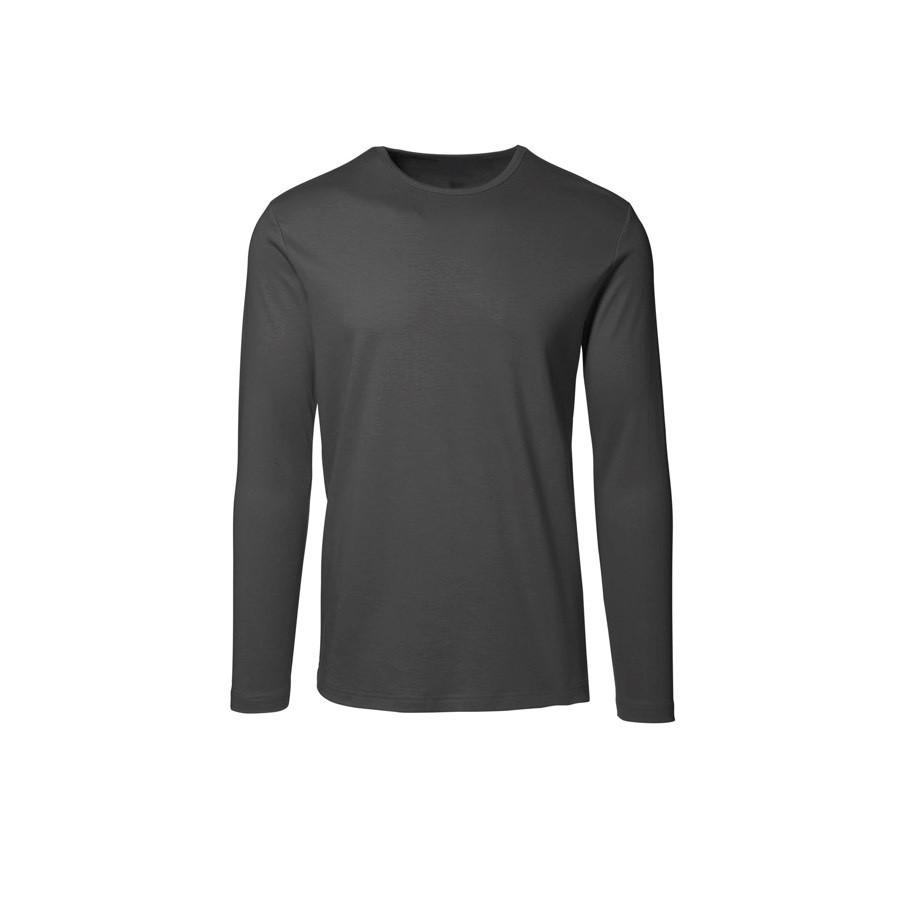 T-shirt, Langærmet, 8522 - Koksgrå