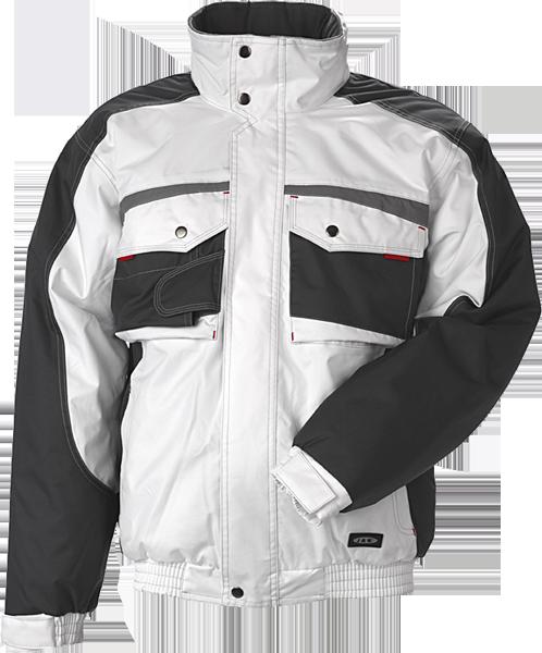 JAK - Pilotjakke, SUPER COLOUR, 9231 - Hvid/Grå
