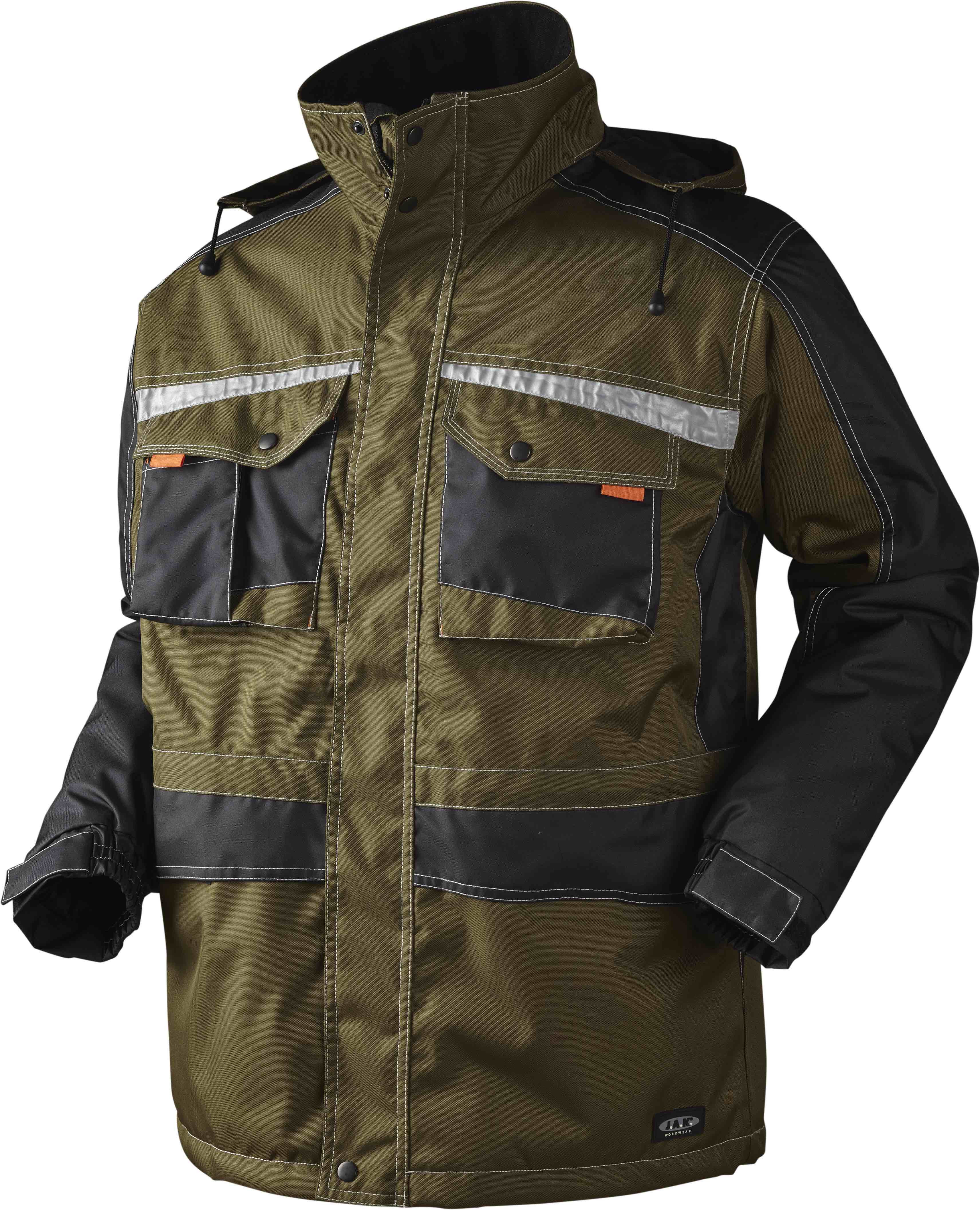 Parka, 9232 - Army/Sort