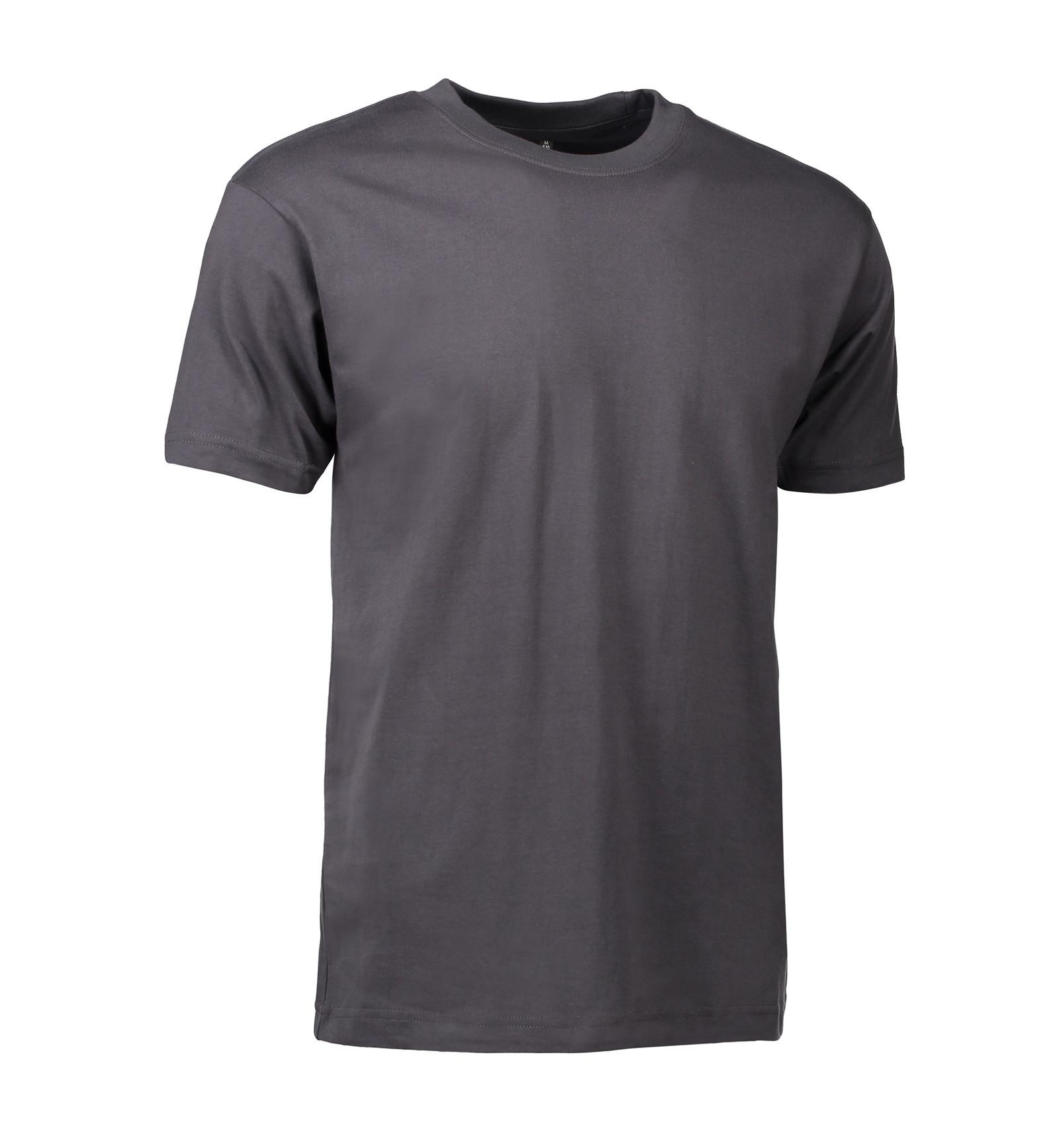 OUTLET - T-shirt, 8504 - Koksgrå