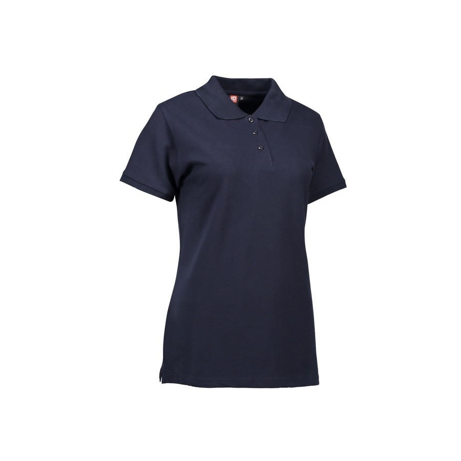 ID - Stretch poloshirt | dame, 0527 - Marine