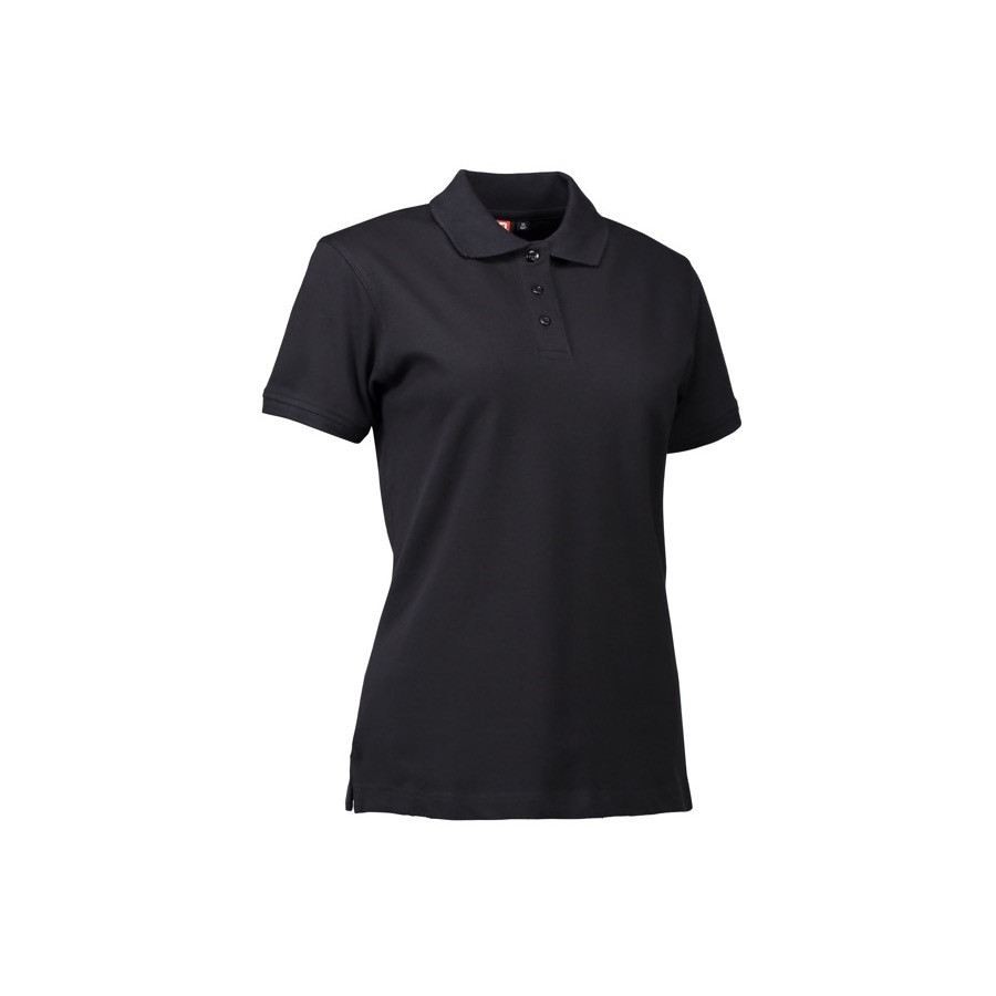 ID - Stretch poloshirt | dame, 0527 - Sort