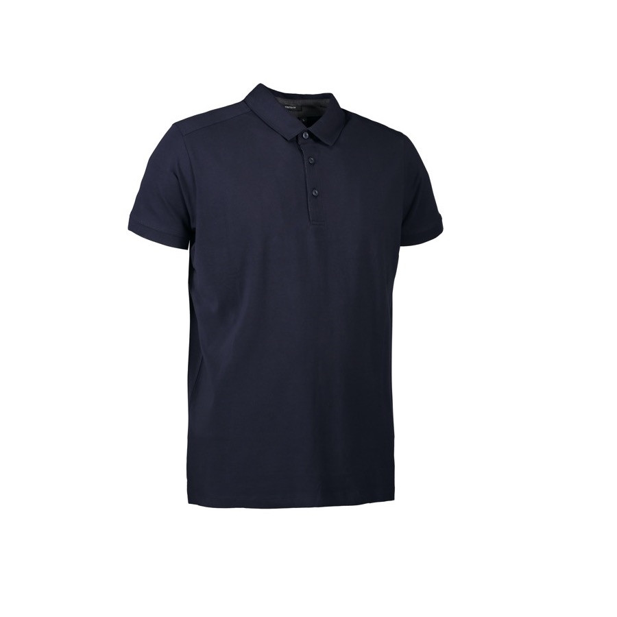 ID - Business herre polo | stretch, 0534 - Navy