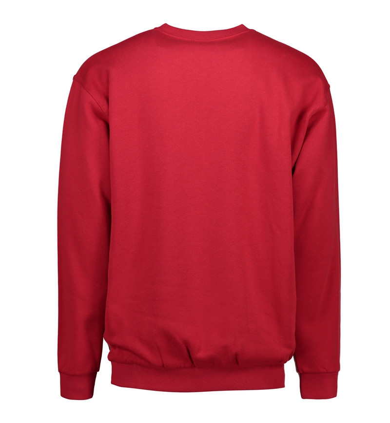 Sweatshirt, Rød - 0600