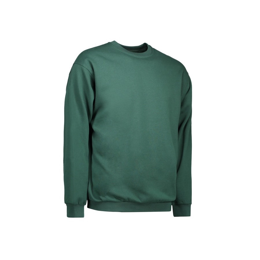 ID - Sweatshirt, 0600 - Flaskegrøn