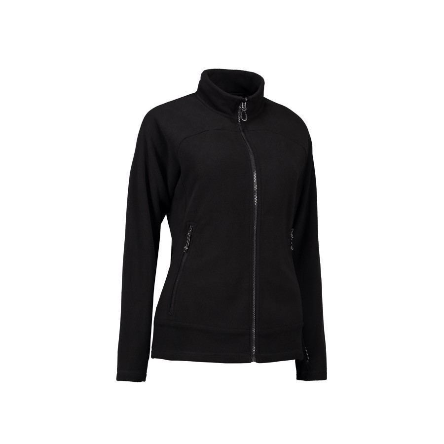 ID - Zip'n'Mix Active dame fleece, 0807 - Sort