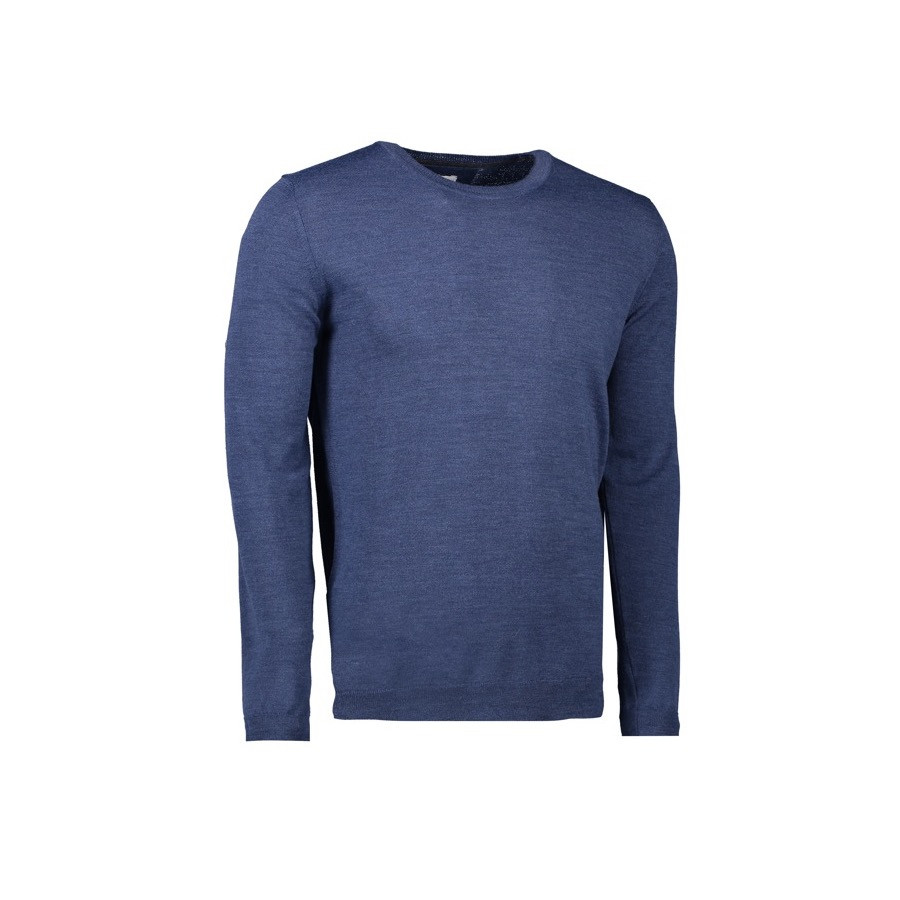 Seven Seas - The Knit | Men's, S650 - Blå Melange