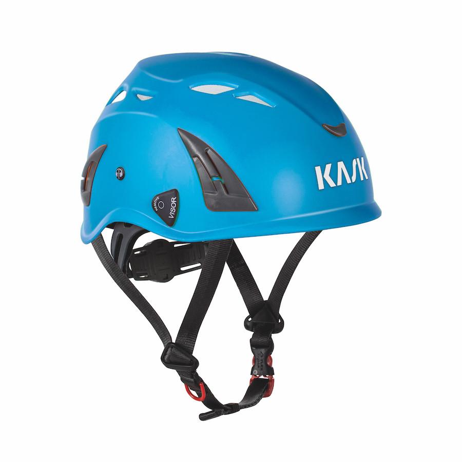 86003314 KASK SIKKERHEDSHJELM, Plasma - Royal Blå