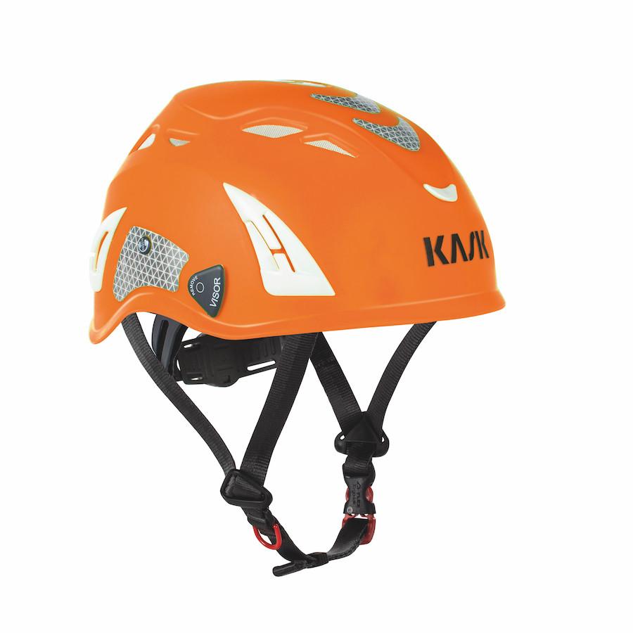 86003422 KASK SIKKERHEDSHJELM, Plasma - Orange Hi-Viz