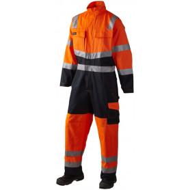 Kedeldragt, HI-VIS, kl. 3, 11108 - Orange/Marine