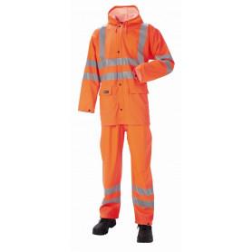 JAK - Regnsæt, HI-VIS, kl. 3, 11118 - Orange