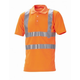 Polo EN20471 kl. 2, Orange - 11113