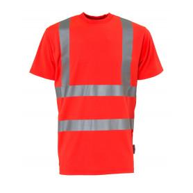 T-shirt EN20471 kl. 2, Rød - 11114