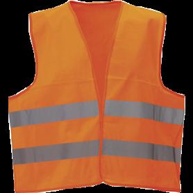 Sikkerhedsvest, Hi-Vis, kl. 2, 11116 - Orange