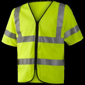 Refleks sikkerhedsvest EN ISO 20471 kl. 3, 11117 - Gul