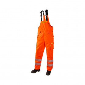 JAK - Vinter overall, HI-VIS, EN20471 kl. 2, 11137 - Orange
