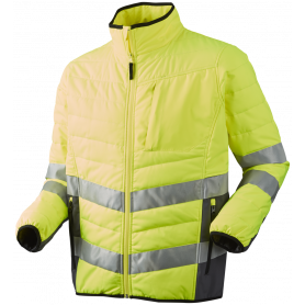 Quiltet jakke, HI-VIS, kl. 3, 11142 - Gul/Grå
