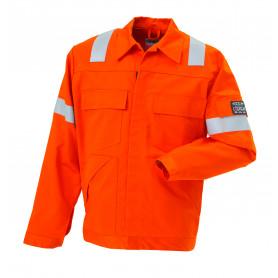 Arbejdsjakke, Hi-Vis, Antistatisk/Antiflame, kl. 1, 12102 - Orange