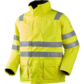Parka, High performance, Hi-Vis, kl. 3, 12136 - Gul