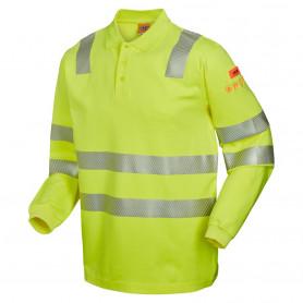 13137 Multinorm L/Æ Poloshirt - Gul