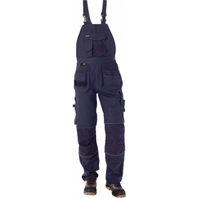Canvas overall, Marine - 1503
