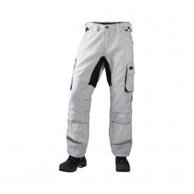 NYHED - JAK - Arbejdsbukser, STRETCH, 1601 - Hvid/grå