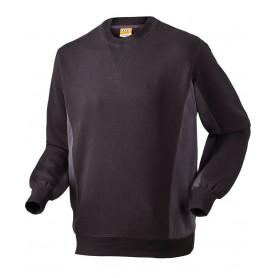 Sweatshirt, 1626 - Sort/Grå