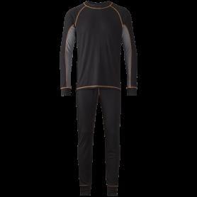 Termoundertøj, sæt, 6009 - Sort