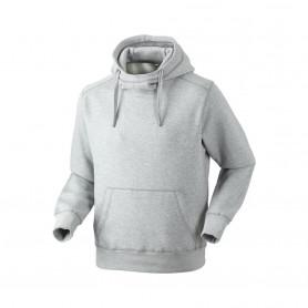 Hættesweatshirt, 8510 - Grå Melange