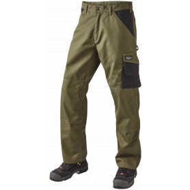 Arbejdsbukser, SUPER COLOUR, 9206 - Army/Sort