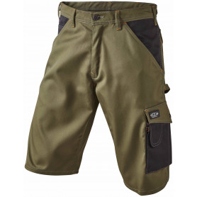 OUTLET - Arbejdsshorts, SUPER COLOUR, 9210 - Army/Sort
