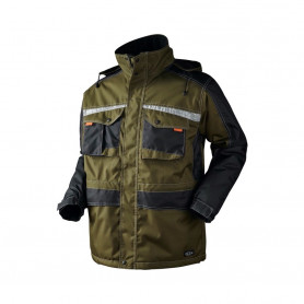 OUTLET - Parka, 9232 - Army/Sort